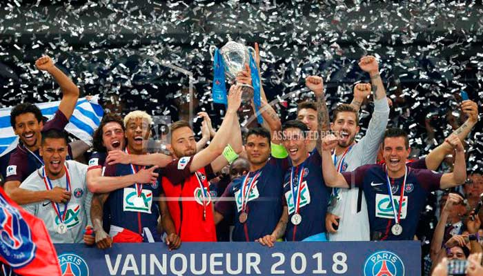 PSG beats valiant minnow Les Herbiers 2-0 to win French Cup