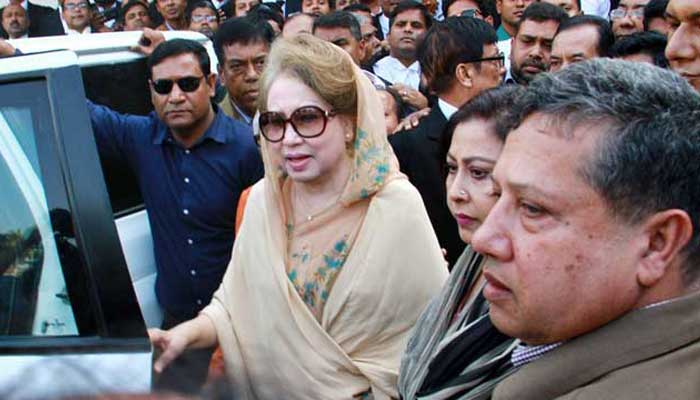 Khaleda's bail petitions in two cases rejected