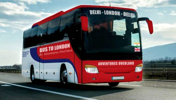 From Delhi to London by bus?