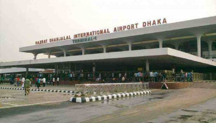 Protest over flight cancellation at Dhaka airport